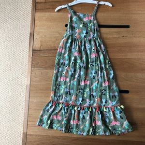 Butterfly Long Girl Dress